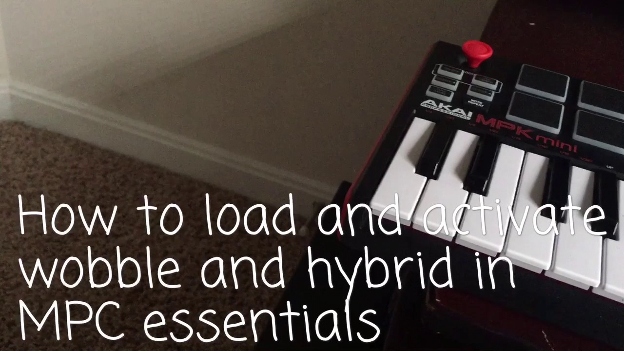 How to install MPC MPK mini Hybrid and Wobble
