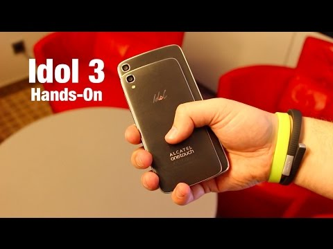 The best surprise from MWC 2015? Alcatel OneTouch Idol 3 hands-on