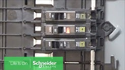 Understanding QO™ Branch Breaker Handle Positions for On, Off & Tripped | Schneider Electric Support