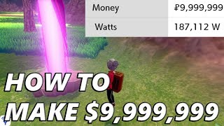 Pokemon Sword and Shield: How to Get $Max with Watt Farming
