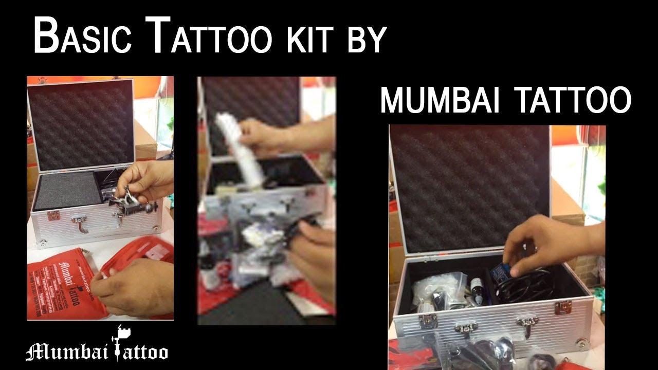Basic Tattoo kit by mumbai tattoo at mumbai india9699735303 - YouTube