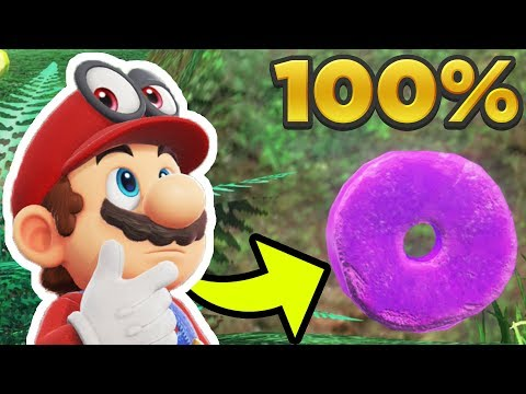 Super Mario Odyssey - Cascade Kingdom ALL 50 REGIONAL COIN LOCATIONS! [100% Guide]