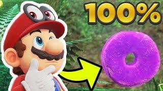 Super Mario Odyssey - Cascade Kingdom ALL 50 REGIONAL COIN LOCATIONS! [100% Guide]