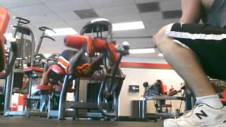 HIGH VOL Prone Leg Curls plus HEAVY TENSION BAND