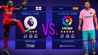 Premier League ALL-STARS vs. <b>La Liga</b> ALL-STARS! - FIFA 21 ...