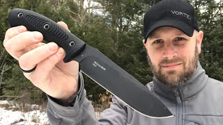 Steel Will Roamer: D2 Steel & Solid Construction | Survival Knife, Camping Knife