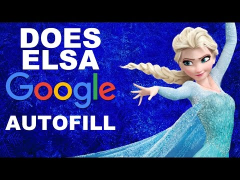 Does Elsa Google Autofill