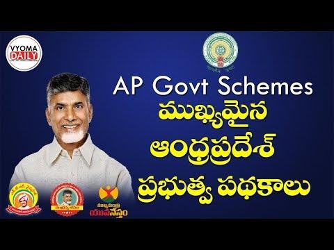 AP Government Schemes ||AP ప్రభుత్వ పథకాలు ||AP Govt Schemes In Telugu For All Competitive Exams