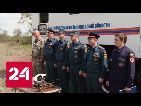 В Волгоградской области борются с коронавирусом и пожарами - Россия 24