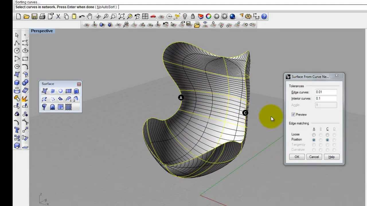 Egg Chair Tutorial In Rhino 3 Youtube