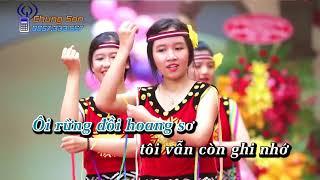 [KARAOKE HD] Chiều Lên Bản Thượng - Beat Phi Nhung