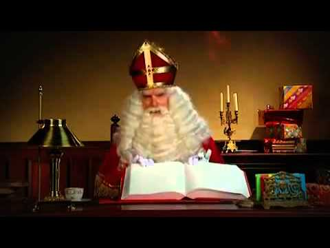 Katta Sinterklaas reklama: ajoyib sovg'a chiroyli qadoqlangan!