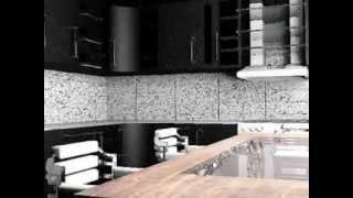 дизайн кухни квартиры студии совмещенной с гостинной
