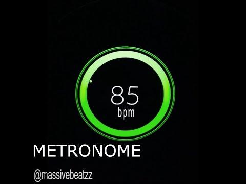 85 BPM Beats Per Minute Metronome Click Track HiQ