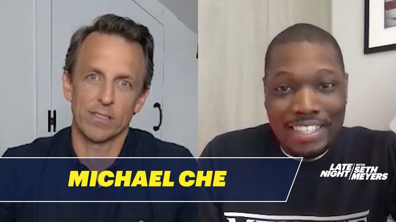 Michael Che Talks About the Black Lives Matter Protests