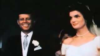 September 12, 1953 - The Wedding of John F. Kennedy & Jacqueline Bouvier in Color