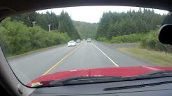 Drive from Kodiak Airport area to Best Western in town..