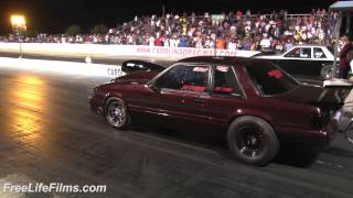 Repeat youtube video Rodie vs. YoungStang at Carolina Dragway