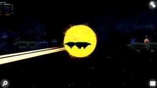 Space battle in Collapse or Oblivion: Solar Creator