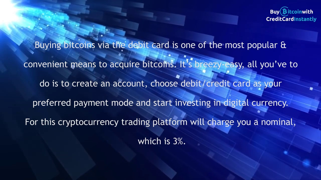 cryptocurrency trading platform credit card