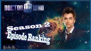 Doctor Who Season 2 Episode Ranking (NuWho)