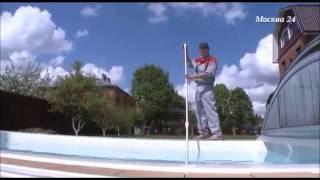 Композитный овальный бассейн Оптима ECOLINE