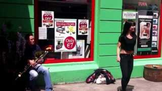Irish Sean Nós Dancing & Irish Uilleann Pipes - Shop Street, Galway.