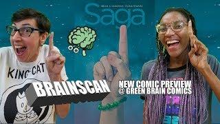 BrainScan Saga Batman New Comic Preview 8/21 Green Brain Comics