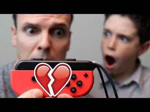 I BROKE THE NINTENDO SWITCH?!