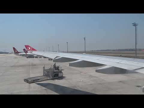 THY - Turkish Airlines A330 Flight TK824 Full Trip - From Istanbul To Beirut (2017-07-23)