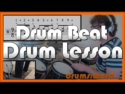 ★ The Crunge Led Zeppelin ★ FREE Drum Lesson  How To Play Drum BEAT John Bonham