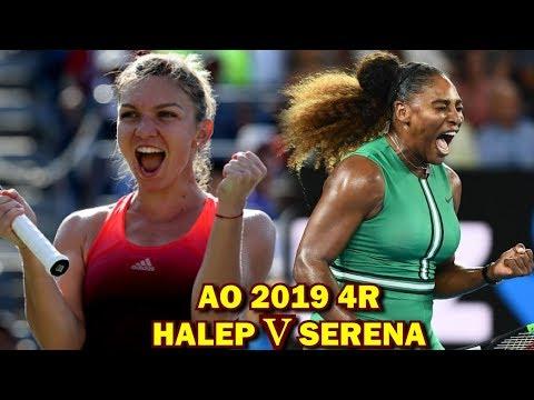 Cand joaca Simona Halep vs Serena Williams Australian Open 4R