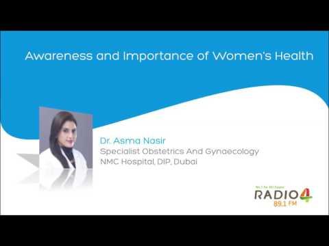 Awareness and Importance of Women's Health – Dr. Asma Nasir – Radio 4 FM