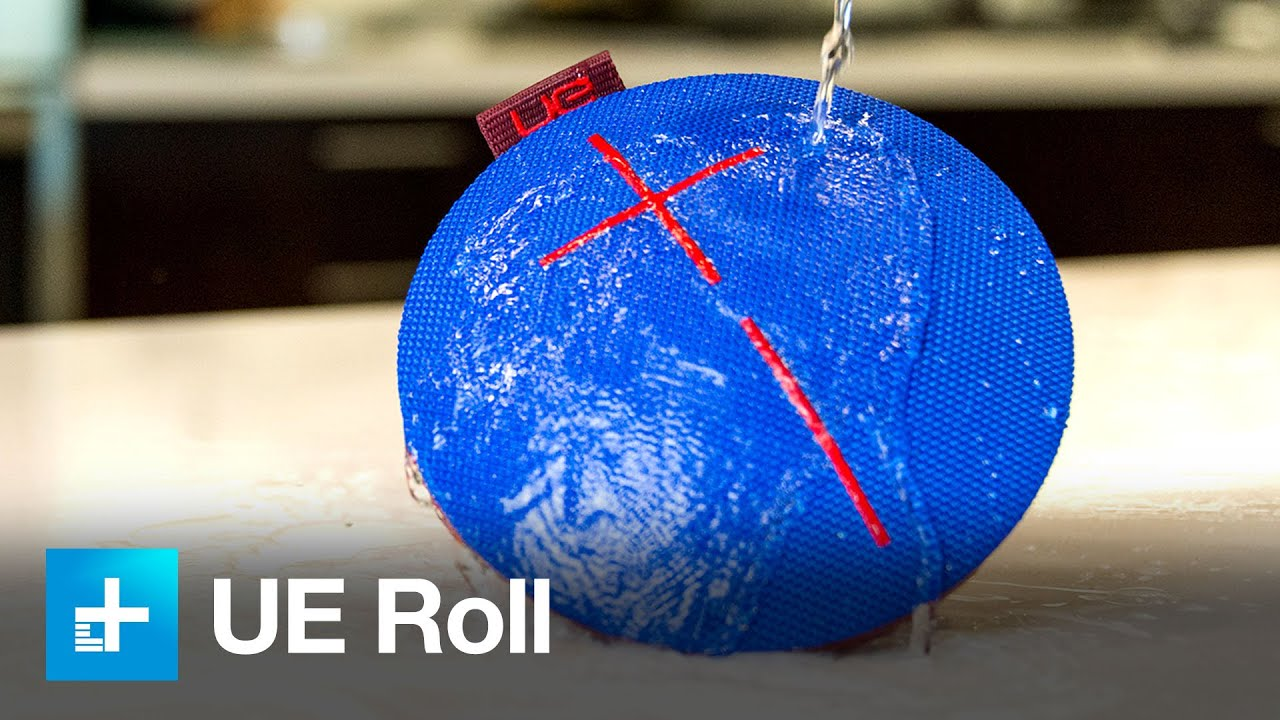 UE Roll Bluetooth Speaker - Hands on Review and Dunk Test - YouTube