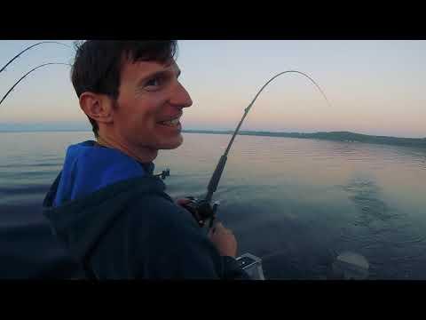 2018-09-16 Grand Traverse Bay, Michigan - Salmon, Trout & Cisco Fishing