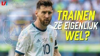 Mysterie Argentinië: Het Voetbal Is Niet Om Aan Te Gluren!