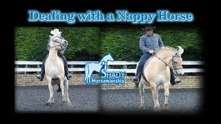 Dealing with a Nappy Horse