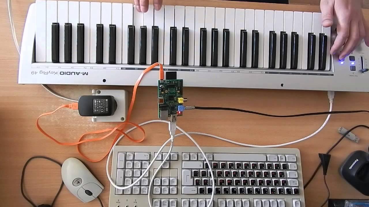 Raspberry Pi as a simple MIDI Synth