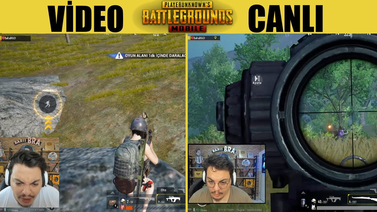 ViDEO Vs CANLI - SEÇİMİNİ YAP Pubg Mobile