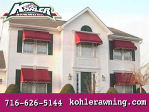 Kohler Awning Inc Cheektowaga, NY - YouTube