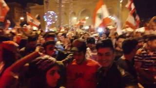 جيشك يا لبنان - ساحة الشهداء -  ثورة 17 تشرين - أيمن أمين