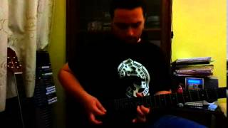 REBELDE guitar solo (RBD cover) by Bandej