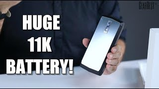 This Smartphone Battery Will Last For Days! Blackview P10000 Pro - GearBest