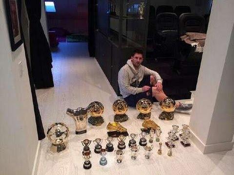 Todos los premios individuales de Messi