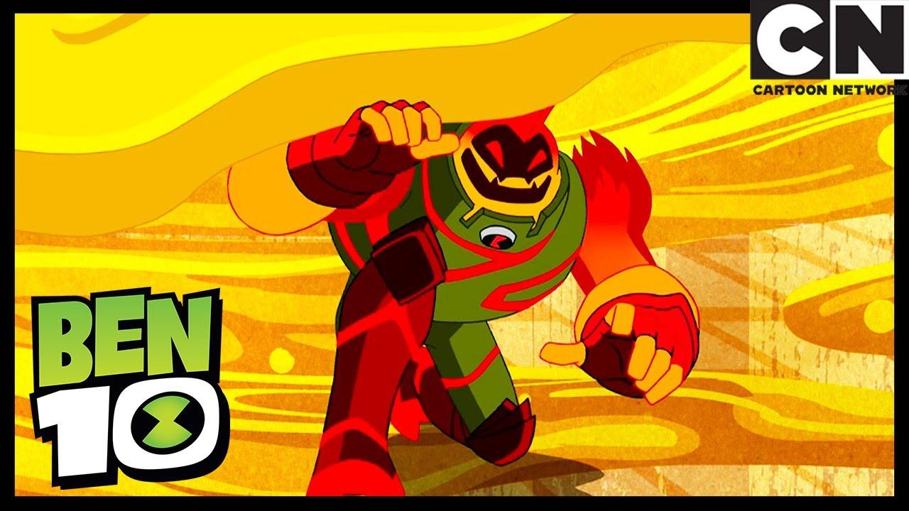 Una Situación Pegajosa   Ben 10 en Español Latino   Cartoon Network