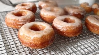 Cronuts - Part 2: Frying And Eating -- Doughnut And Croissant Hybrid Recipe