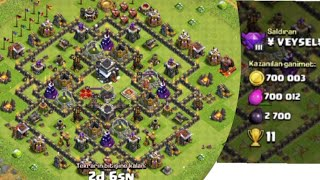Clash Of Clans +700k Ganimet Kasma