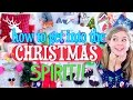 How to Get Into the Christmas Spirit!! | DIY Decor, Treat, and Fun Things to do for the Holidays!!