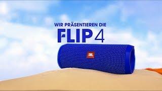 Der neue JBL Flip 4 Waterproof Bluetooth Lautsprecher