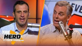 Doug Gottlieb discusses Browns struggles under Baker, talks Packers offense | NFL | THE HERD